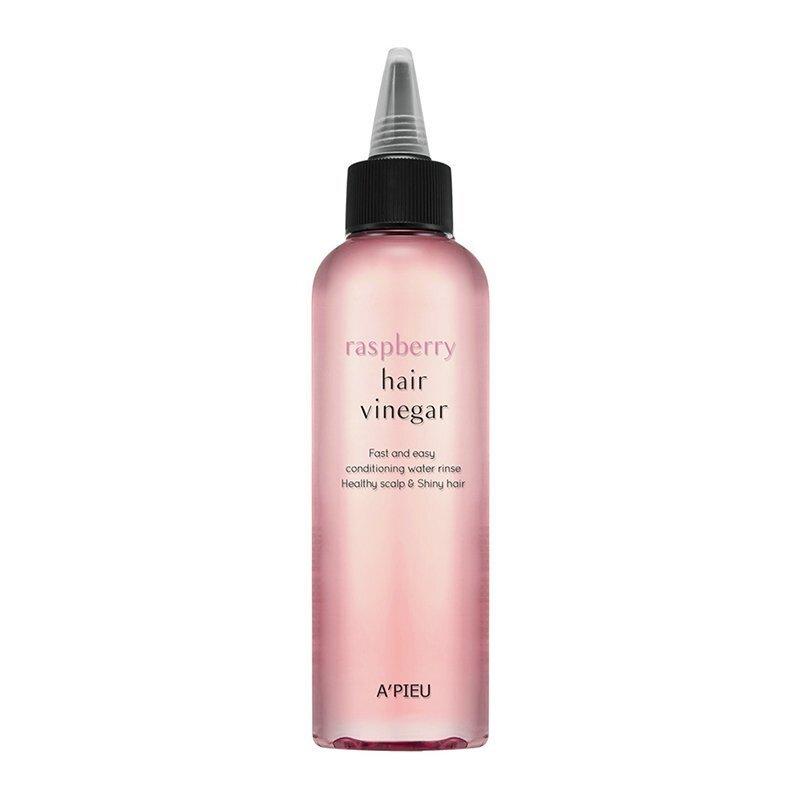 A'pieu Raspberry Hair Vinegar – priemonė su actu stiprinanti plaukų šaknis
