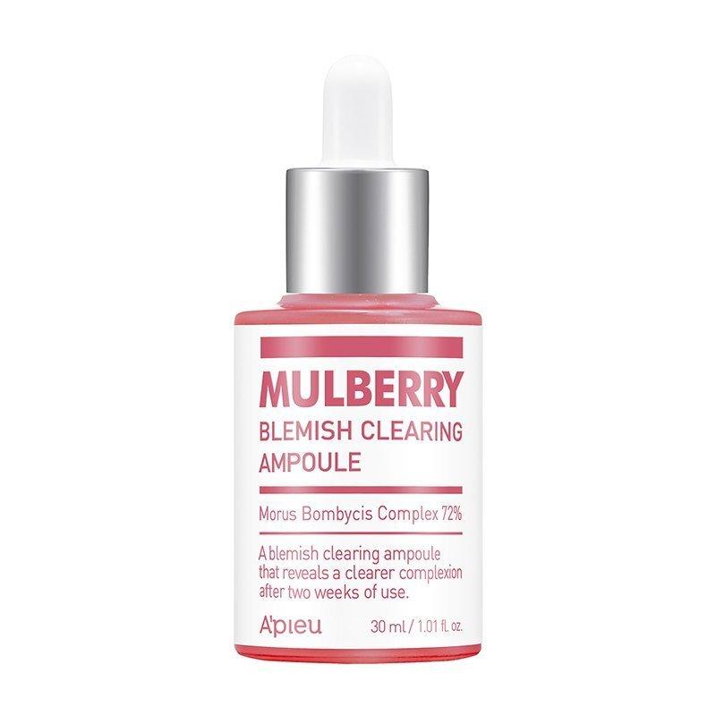A'pieu Mulberry Blemish Clearing Ampoule – šviesinamoji ampulė