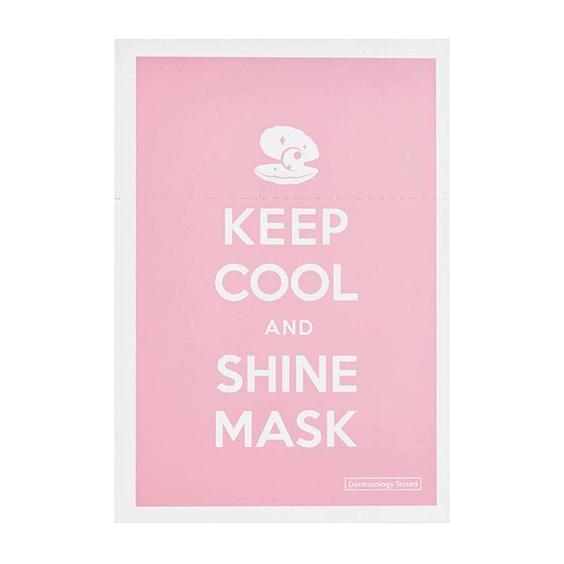 Keep Cool Shine Mask – šviesinamoji veido kaukė