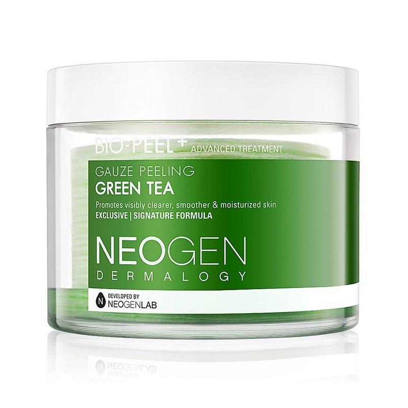 Neogen Dermalogy Bio-Peel Gauze Peeling Green Tea – šveičiamieji diskeliai