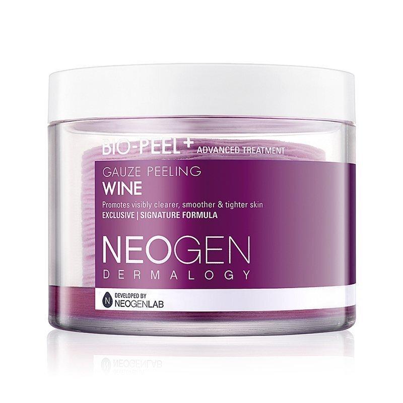 Neogen Dermalogy Bio-Peel Gauze Peeling Wine – šveičiamieji diskeliai